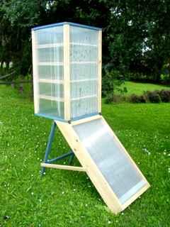 Termotend system for Essiccatore solare fai da te